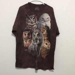 The Mountain Owls Tee New